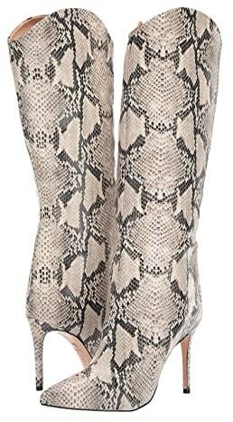 SCHUTZ Womens Maryana Leather Dress Boot
