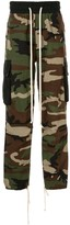 Daniel Patrick camouflage print cargo trousers