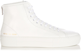 Common Projects Tournament high-top leather flatform trainers