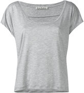 Acne Studios scoop neck T-shirt - women - Lyocell - XS