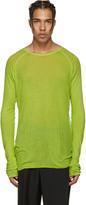 Haider Ackermann Green Neon Pullover