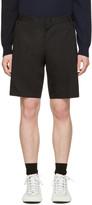 Lanvin Black Slim Shorts