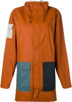 Rains pocket raincoat - men - Polyester/Polyurethane - XS