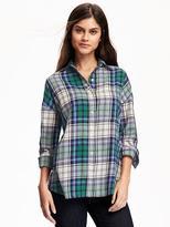 Boyfriend Flannel Shirt for Women