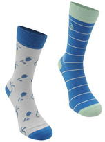 Penguin 2 Pack Tennis Fashion Socks