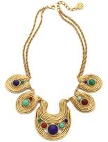 Ben-Amun Swirl Stone Necklace