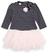Biscotti Infant Girl's Stripe Bodice Tutu Dress