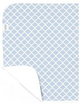 Kushies Baby Deluxe Change Pad, Blue Lattice by