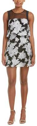 BCBGeneration Women's Mesh Floral Dress