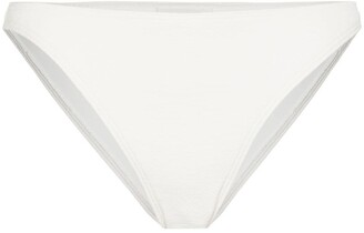Peony Swimwear Mid-Rise Bikini Bottoms