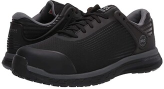 Timberland Drivetrain Composite Safety Toe EH (Black/Grey) Men's Shoes
