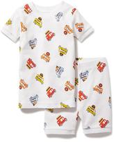 Old Navy Food Truck Graphic 2-Piece Sleep Set for Toddler & Baby