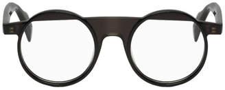 Yohji Yamamoto Black Round Classic Glasses