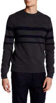 Billy Reid Stripe Crew Neck Sweater