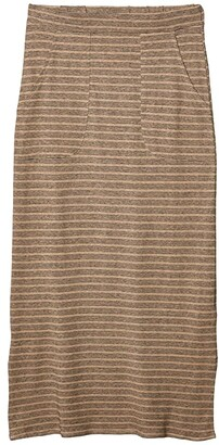Prana Tulum Skirt (Dark Khaki) Women's Skirt
