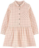 Jean Bourget Checked shirt dress