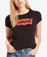 Levi's Cotton Perfect Slim Logo Graphic T-Shirt