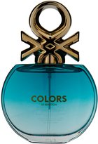 Benetton Colors Eau De Toilette Spray for Women, Blue, 2.7 Ounce