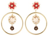 Dolce & Gabbana Exclusive To Mytheresa.com – Embellished Clip-on Earrings
