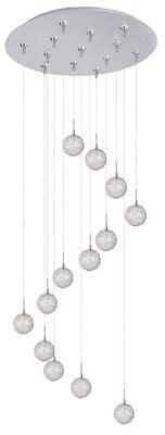 Mercury Row Philomena 13-Light Cluster Globe Pendant Mercury Row