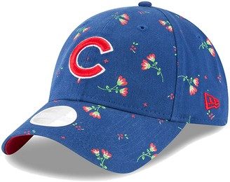 New Era Women's Royal Chicago Cubs Blossom 9TWENTY Adjustable Hat