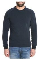 Cycle Men's Blue Cotton Sweater.