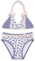 Hula Star 'Anchored' Two-Piece Swimsuit (Toddler Girls)