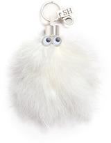 Sophie Hulme 'Casper' turkey feather keyring