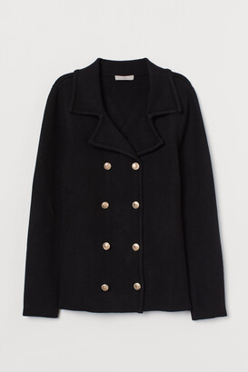 H&M Double-breasted cardigan