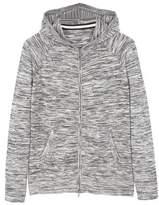 MANGO Flecked cotton-blend jacket