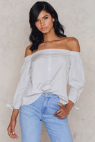 Rut & Circle Madde off shoulder blouse