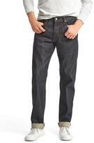 Gap Japanese selvedge straight fit jeans (stretch)
