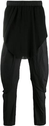 Julius Drop-Crotch Cotton Trousers