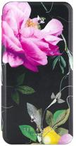 Ted Baker Venece Folio Case With Mirror For IPhone 6/7 Plus - Citrus Bloom Black