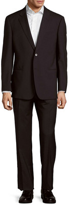 Armani Collezioni 2Pc G Line Wool Suit With Flat Front Pant
