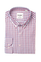 Ben Sherman Kings Long Sleeve Tailored Slim Fit Check Dress Shirt