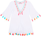 Chach Embroidered Cover-Up