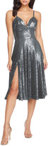 Thumbnail for your product : Dress the Population Mimi Sequined Sweetheart Cocktail Dress