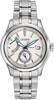 Citizen Silvertone Signature Grand Classic Bracelet Watch - Men