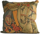 The Well Appointed House Clown With Horse Pillow