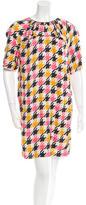 Marni Houndstooth Printed Dress