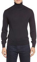 Luciano Barbera Men's Cashmere & Silk Turtleneck Sweater