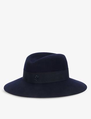 Maison Michel Virginie wool-felt fedora hat