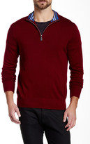 Tailorbyrd Cornell Quarter Zip Wool Sweater