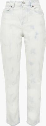 IRO Vendom Bleached High-rise Slim-leg Jeans