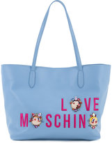 Love Moschino logo shopper tote