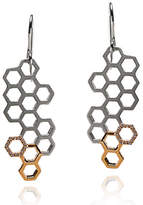 Gia Belloni Honeycomb Drop Earrings