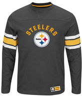 Majestic NFL Pittsburgh Steelers Power Hit Long Sleeve T-Shirt