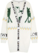 Loewe Oversized Mohair-blend Cardigan