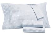 Charter Club Damask Designs Damask Designs Printed Dot Sheet Sets, 500 Thread Count, Created for Macy's